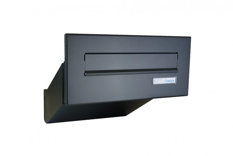 POŠTOVNÍ SCHRÁNKY DO SLOUPKU OPLOCENÍ - 1x poštovní schránka D-041 k zazdění do sloupku + čelní deska se jmenovkou ČD-1