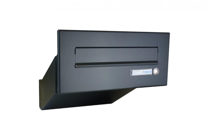 POŠTOVNÍ SCHRÁNKY DO SLOUPKU OPLOCENÍ - 1x poštovní schránka D-041 k zazdění do sloupku + čelní deska se zvonkem ČD-2