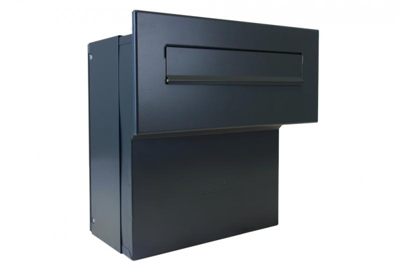 POŠTOVNÍ SCHRÁNKY DO SLOUPKU OPLOCENÍ - 1x poštovní schránka F-041 k zazdění do sloupku + čelní deska bez jmenovky ČD-4