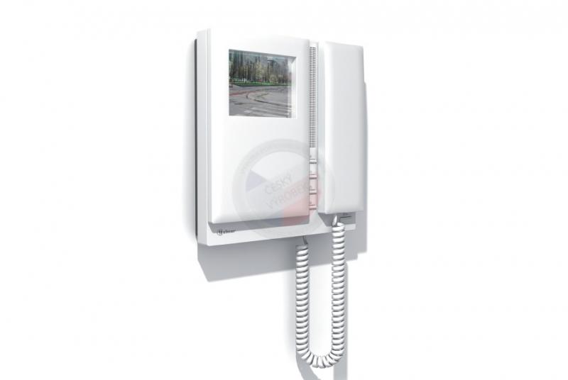 """NÁHRADNÍ DÍLY A DOPLŇKY - 4"""" TFT Videotelefon barevný TEKNA Plus Color, sluchátkový barevný"""
