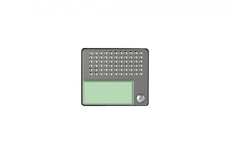 NÁHRADNÍ DÍLY A DOPLŇKY - Audio modul BTICINO (351000) + kryt - 1 zvonkové tlačítko (351015)