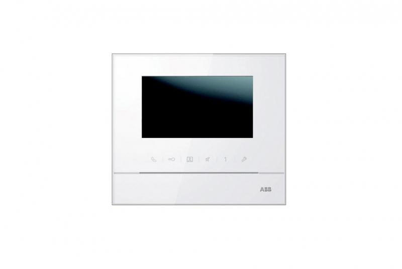 NÁHRADNÍ DÍLY A DOPLŇKY - Barevný videotelefon ABB Welcome Midi 4,3 bílý (2TMA210050W0007)