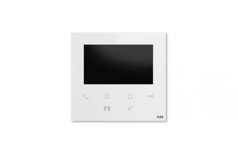 NÁHRADNÍ DÍLY A DOPLŇKY - Barevný videotelefon ABB Welcome Midi 4,3 bílý, Wi-Fi (2TMA220050W0022)