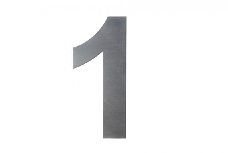 DOMOVNÍ ČÍSLA - Domovní číslo popisné NEREZ č. 1