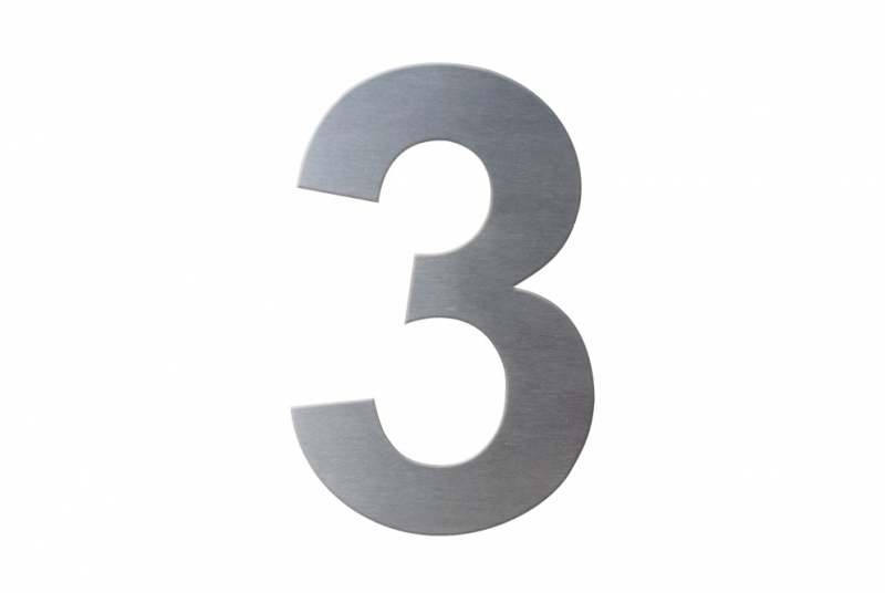 DOMOVNÍ ČÍSLA - Domovní číslo popisné NEREZ č. 3