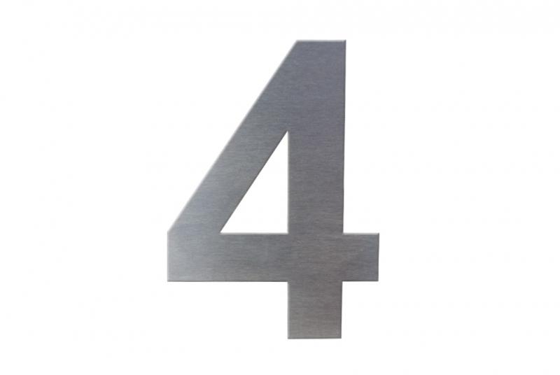 DOMOVNÍ ČÍSLA - Domovní číslo popisné NEREZ č. 4