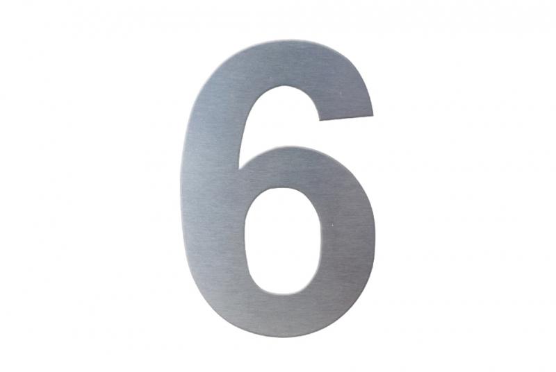 DOMOVNÍ ČÍSLA - Domovní číslo popisné NEREZ č. 6