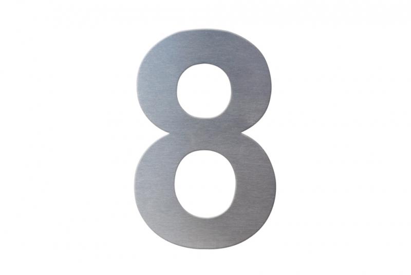 DOMOVNÍ ČÍSLA - Domovní číslo popisné NEREZ č. 8