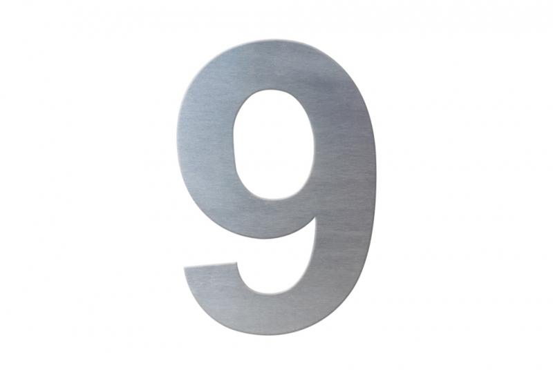 DOMOVNÍ ČÍSLA - Domovní číslo popisné NEREZ č. 9