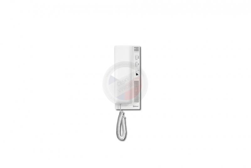 NÁHRADNÍ DÍLY A DOPLŇKY - Domovní telefon digitální elektronický GB2 T-562, 2 drát - BÍLÝ