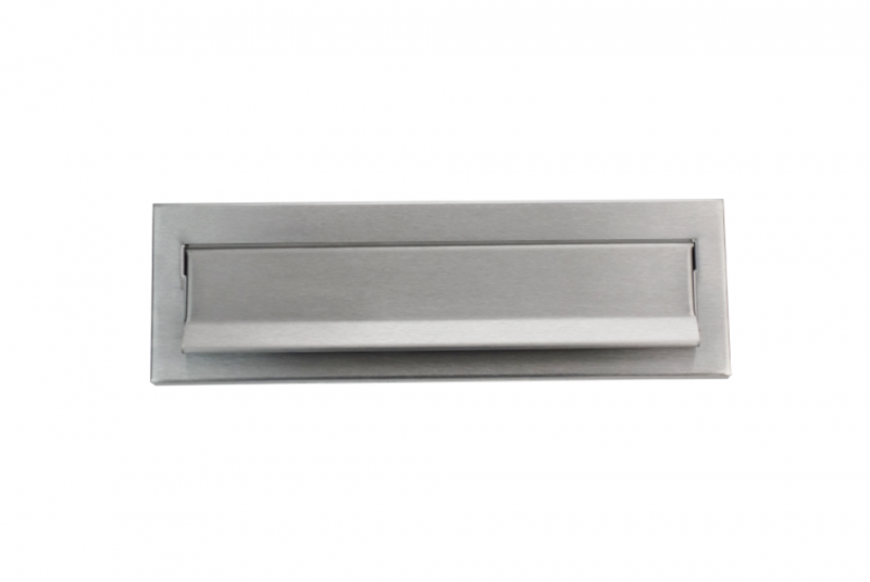 DVEŘNÍ VHOZY - Dveřní vhoz 275 mm k uzamykatelné schránce 270x380x100 - NEREZ