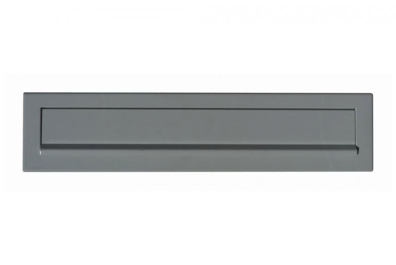 DVEŘNÍ VHOZY - Dveřní vhoz 375 mm k uzamykatelné schránce 370x330x100 - lakovaný