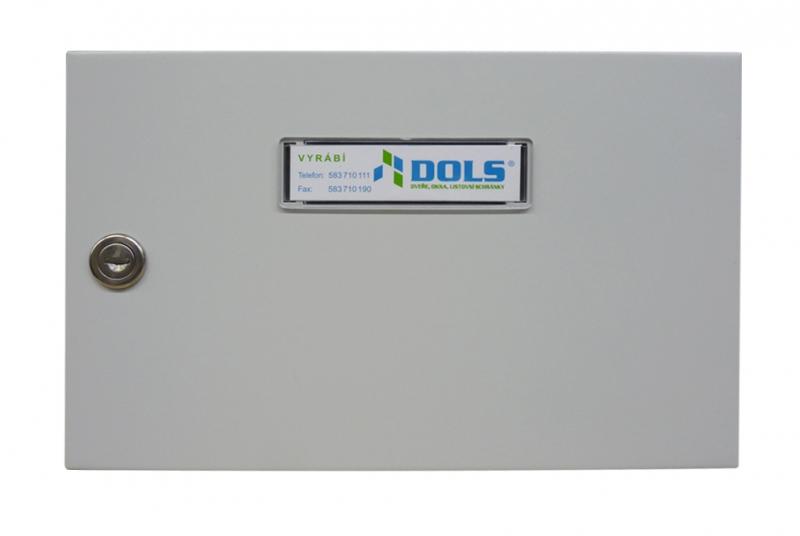 NÁHRADNÍ DÍLY A DOPLŇKY - Dvířka kompletní pro E-01 poštovní schránka paneláková