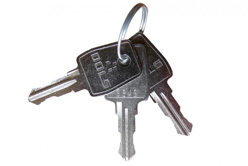 NÁHRADNÍ DÍLY A DOPLŇKY - Náhradní sada 3 klíčů - podle čísla klíče