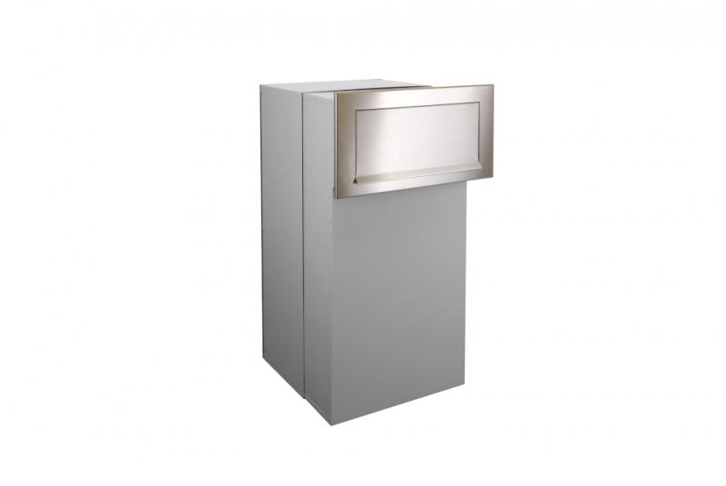 PARCEL BOX (SCHRÁNKA NA BALÍKY) - Parcel box (schránka na balíky) - pro zazdění s čelní deskou, nastavitelná hloubka