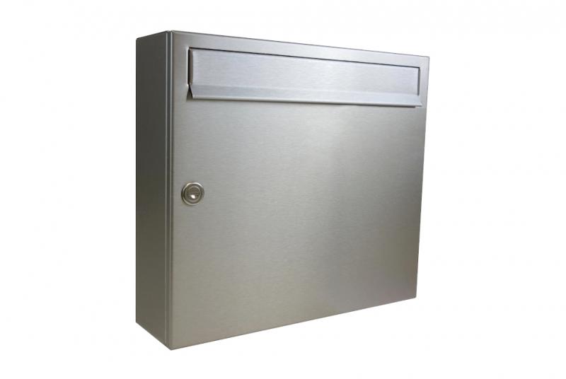POŠTOVNÍ SCHRÁNKY - Poštovní schránka A-01 bez jmenovky - NEREZ