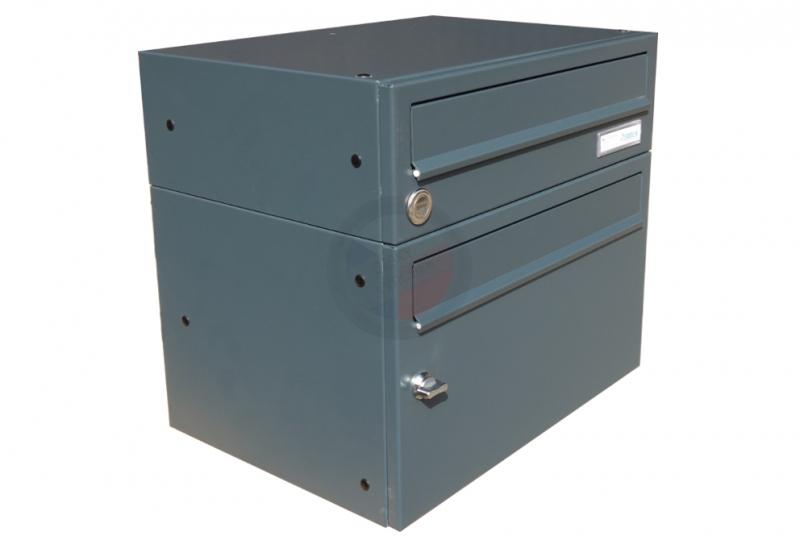 VÝPRODEJ - Poštovní schránka B-017 + schránka na letáky B- 217