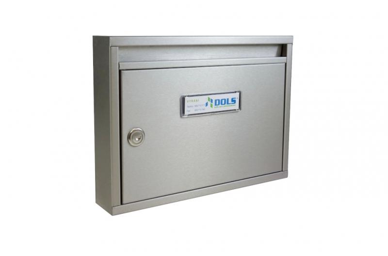 POŠTOVNÍ SCHRÁNKY - Poštovní schránka E-01 s hloubkou 60 mm paneláková - NEREZ