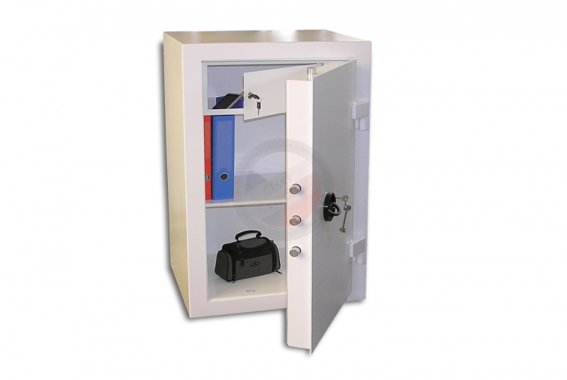 TREZORY - Trezor nábytkový PT 100 - 200 kg - dvouplášťový s elektronickým zámkem