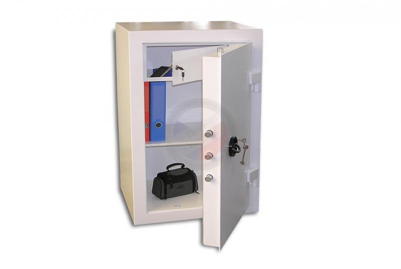TREZORY - Trezor nábytkový PT 100 - 300 kg - dvouplášťový s elektronickým zámkem