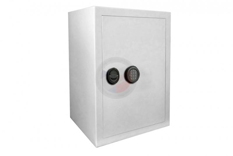 TREZORY - Trezor nábytkový PT 7 - dvouplášťový s elektronickým zámkem