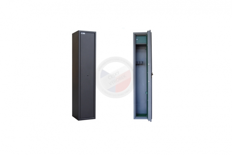 TREZORY A SKŘÍNĚ NA ZBRANĚ - Trezor skříň na zbraně MAXI 3 PM/3 s vnitřní schránkou - s mechanickým zámkem