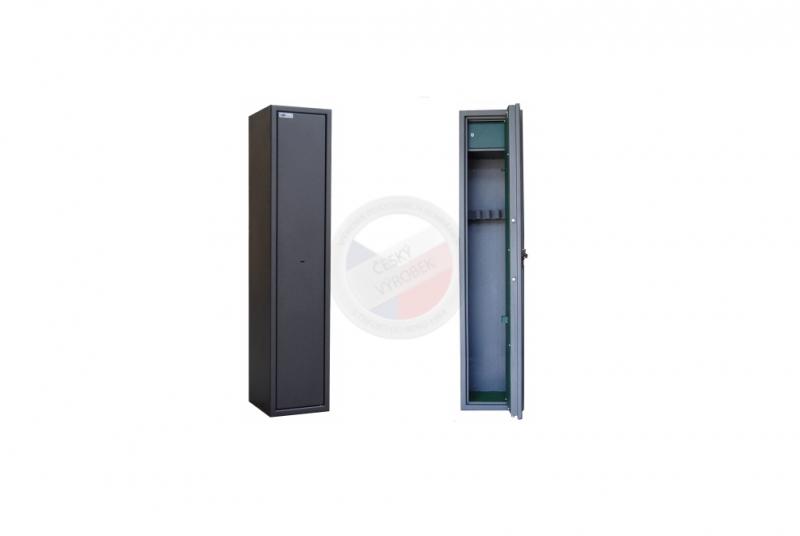 TREZORY A SKŘÍNĚ NA ZBRANĚ - Trezor skříň na zbraně MAXI 3 PM/5 s vnitřní schránkou - s mechanickým zámkem