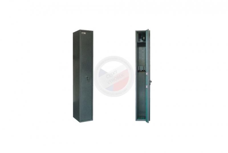 TREZORY A SKŘÍNĚ NA ZBRANĚ - Trezor skříň na zbraně MAXI 3 PM s vnitřní schránkou - s mechanickým zámkem