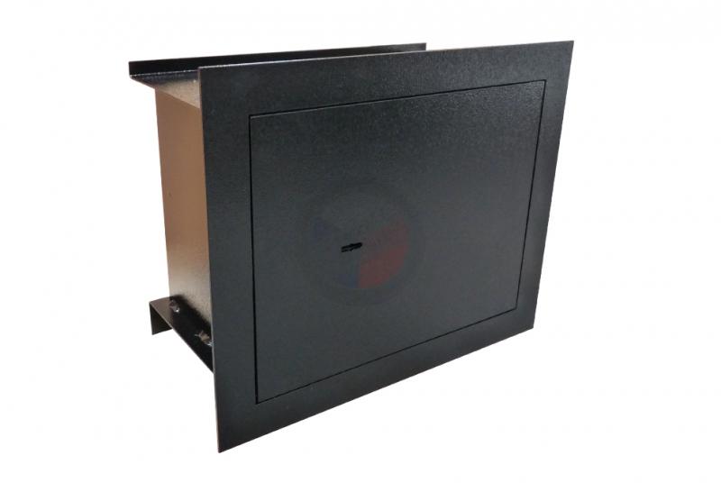 TREZORY - Trezor stěnový WB 36 - dvouplášťový s elektronickým zámkem