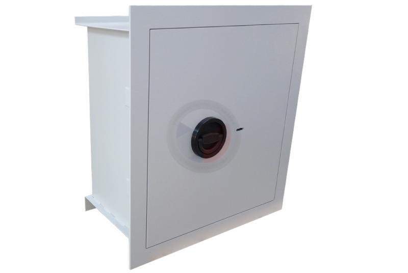 TREZORY - Trezor stěnový WB 50 - dvouplášťový s elektronickým zámkem