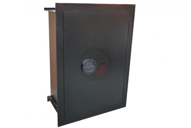 TREZORY - Trezor stěnový WB 70 - dvouplášťový s elektronickým zámkem