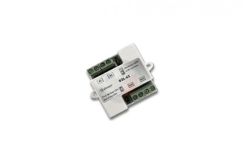 NÁHRADNÍ DÍLY A DOPLŇKY - Video distributor D2L-GB2, 2 výstupy, pro monitory řady GB2